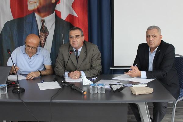MMMB Derneği Çorlu Şubesi Çorlu SMMM Odası Toplantı Salonunda 17. Olağan Seçimli Genel Kurulunu Yaptı.