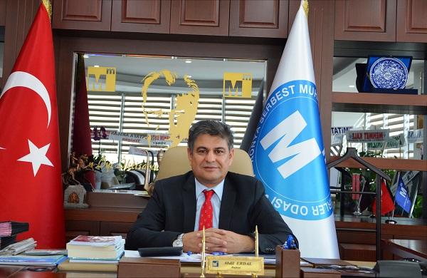 Konya SMMMO Başkanı Abdil ERDAL'dan ; Borç Yapılandırma Açıklaması